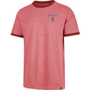 '47 Men's Boston Red Sox Rundown Ringer T-Shirt