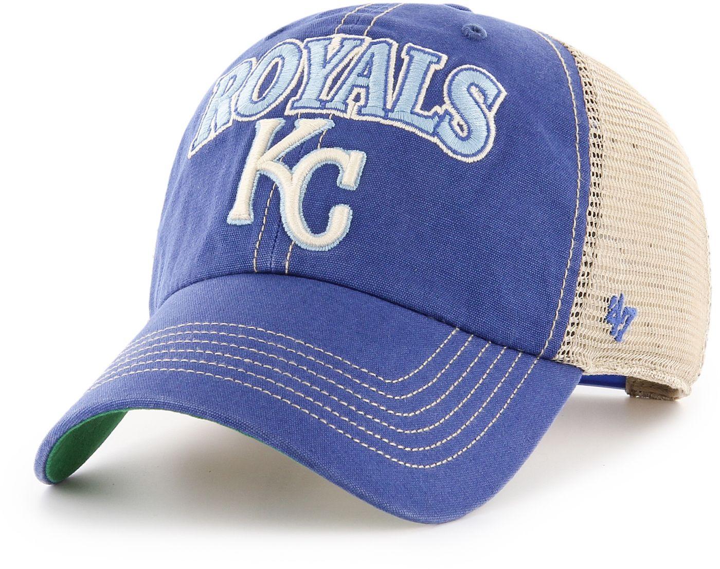 '47 Men's Kansas City Royals Tuscaloosa Clean Up Adjustable Hat