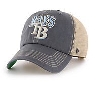 '47 Men's Tampa Bay Rays Tuscaloosa Clean Up Adjustable Hat