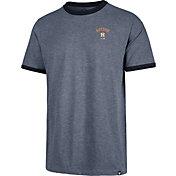 '47 Men's Houston Astros Rundown Ringer T-Shirt