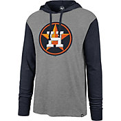 '47 Men's Houston Astros Grey Callback Sport Fleece Pullover Hoodie