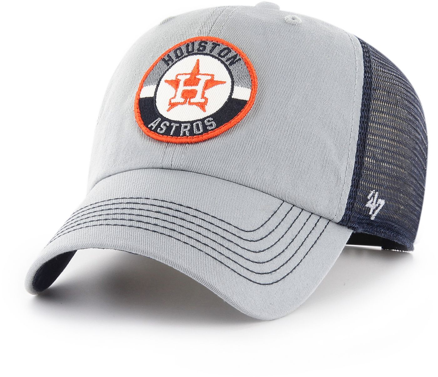 '47 Men's Houston Astros Porter Clean Up Adjustable Hat