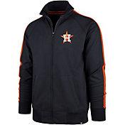 '47 Men's Houston Astros Rundown Full-Zip Track Jacket