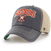 '47 Men's Houston Astros Tuscaloosa Clean Up Adjustable Hat