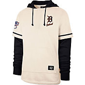'47 Men's Detroit Tigers Navy Shortstop Pullover Hoodie