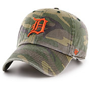 '47 Men's Detroit Tigers Camo Clean Up Adjustable Hat