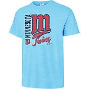 '47 Men's Minnesota Twins Vintage Blue T-Shirt