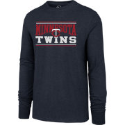'47 Men's Minnesota Twins Club Long Sleeve Shirt