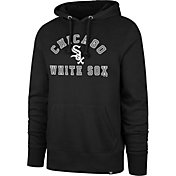 '47 Men's Chicago White Sox Black Headline Pullover Hoodie