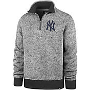'47 Men's New York Yankees Kodiak Quarter-Zip Pullover