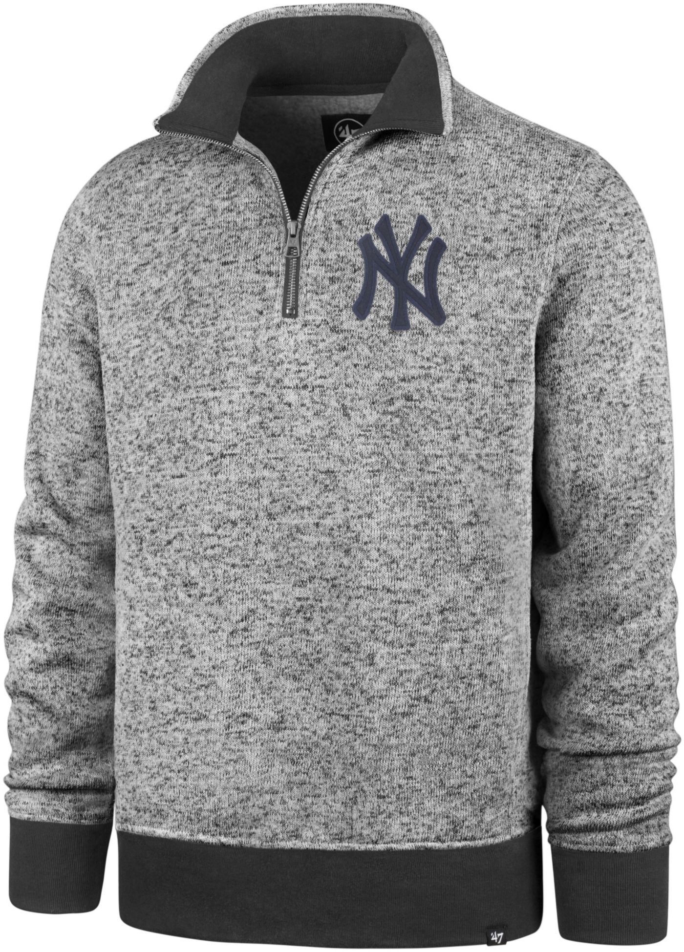 '47 Men's New York Yankees Kodiak Quarter-Zip Pullover