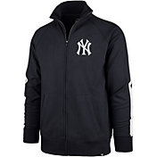 '47 Men's New York Yankees Rundown Full-Zip Track Jacket