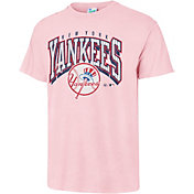'47 Men's New York Yankees Vintage Pink T-Shirt