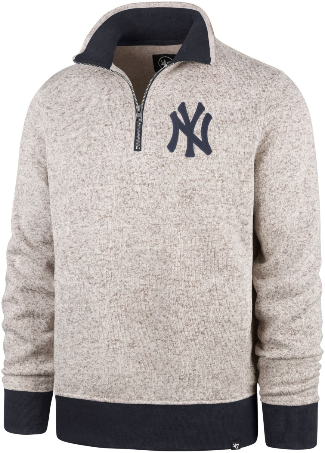 '47 Men's New York Yankees Kodiak Quarter Zip Pullover