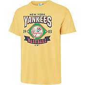 '47 Men's New York Yankees Vintage Yellow T-Shirt