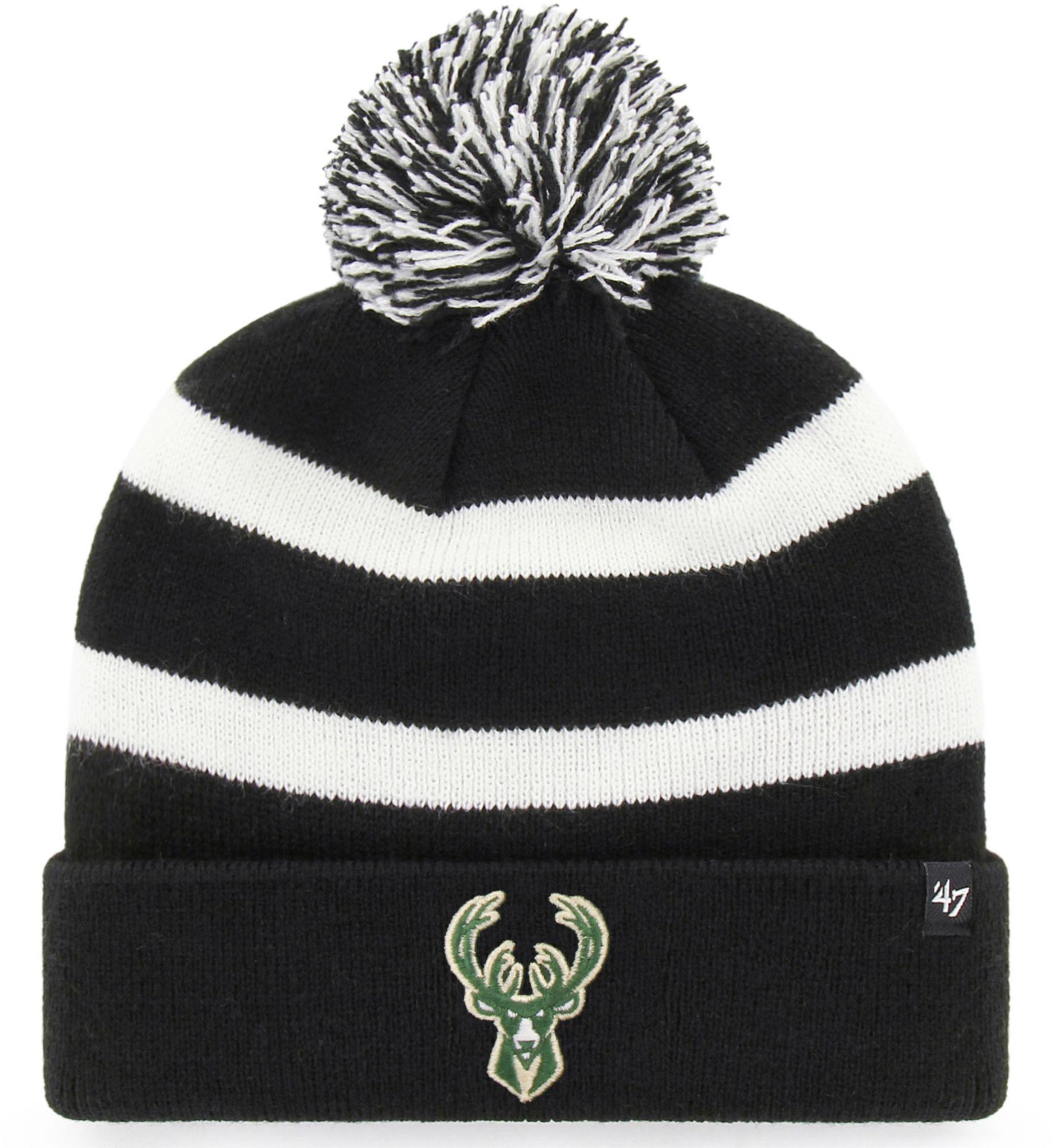 '47 Men's Milwaukee Bucks Breakaway Knit Hat, Black thumbnail