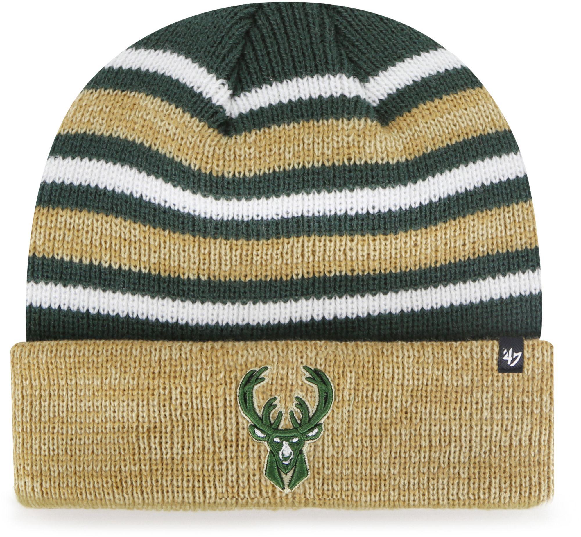 '47 Men's Milwaukee Bucks Knit Beanie, Size: One size, Green thumbnail