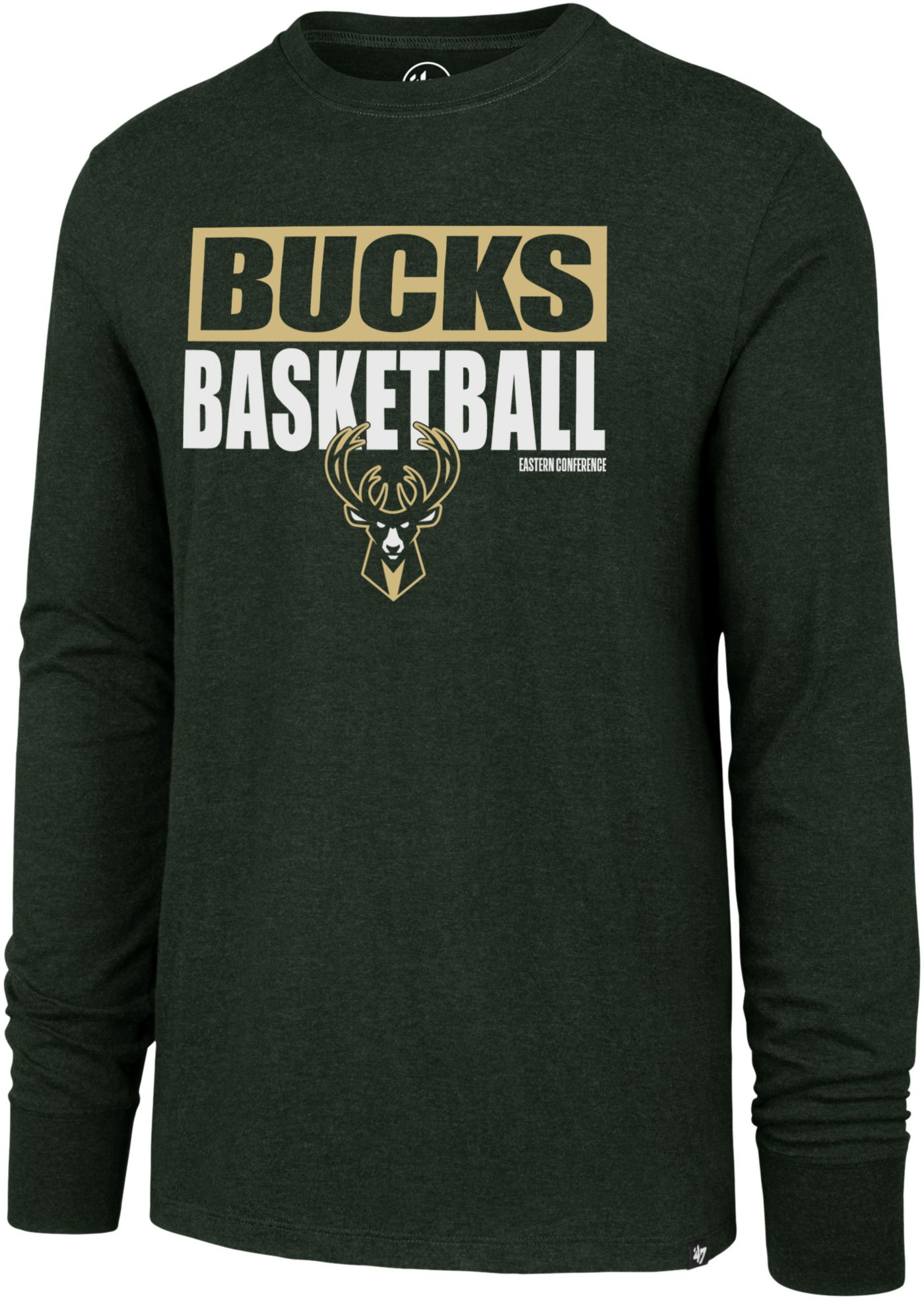 '47 Men's  Milwaukee Bucks Club Long Sleeve Shirt