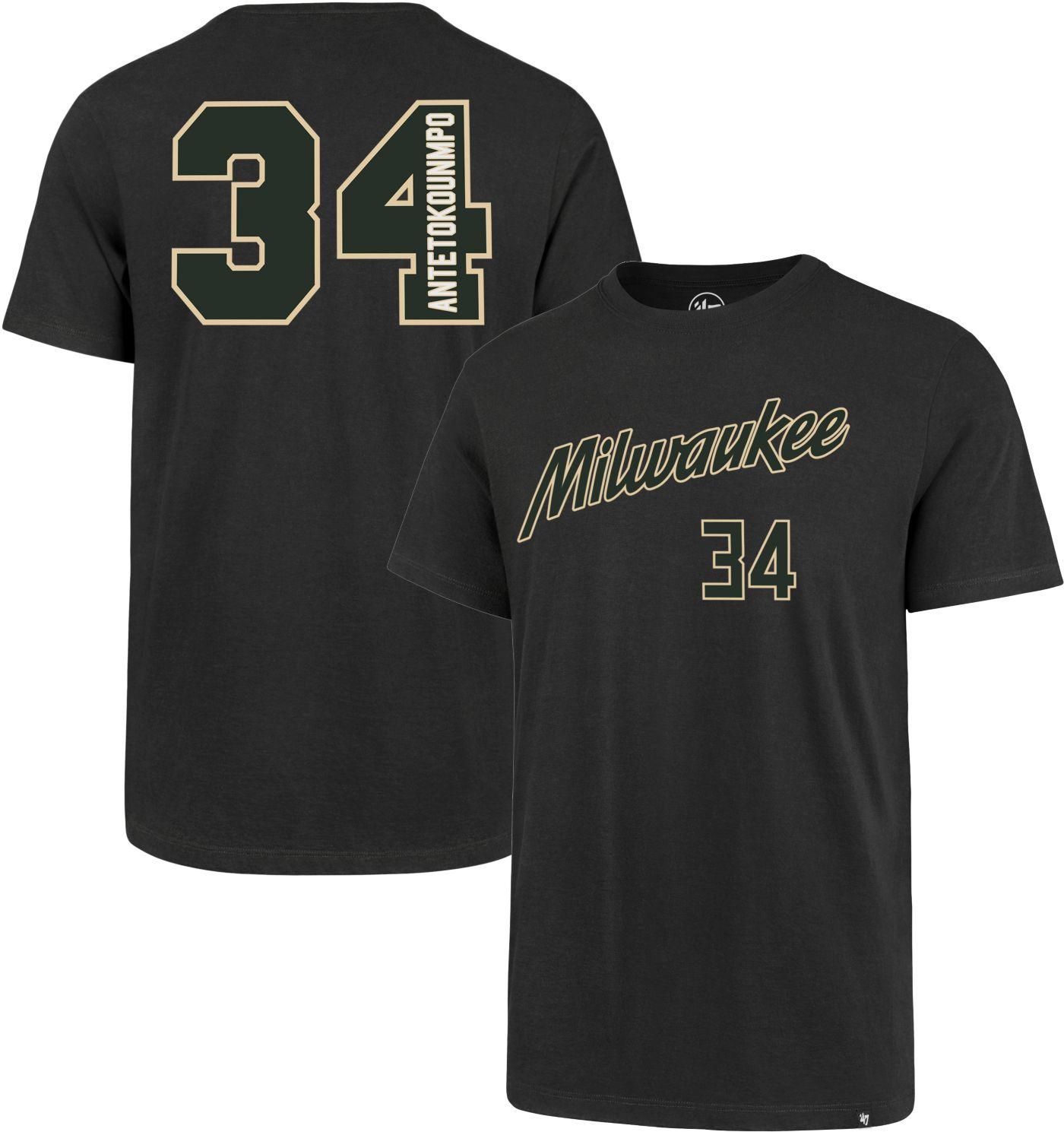 '47 Men's Milwaukee Bucks Giannis Antetokounmpo T-Shirt