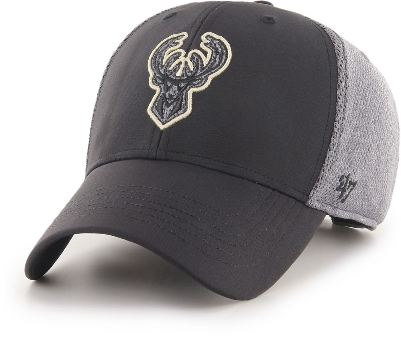 47 Men's Milwaukee Bucks Arlo MVP Black Adjustable Hat