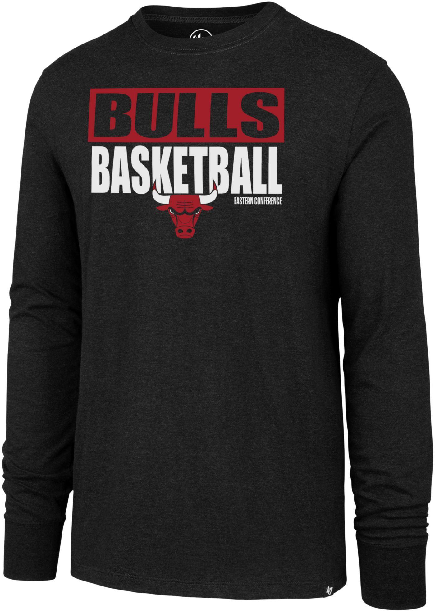'47 Men's  Chicago Bulls Club Long Sleeve Shirt