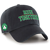 "'47 Men's Boston Celtics ""Rise Together"" Clean Up Adjustable Hat"