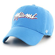 '47 Men's Miami Heat City Edition Clean Up Adjustable Hat