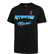 '47 Men's Miami Heat Dwyane Wade T-Shirt