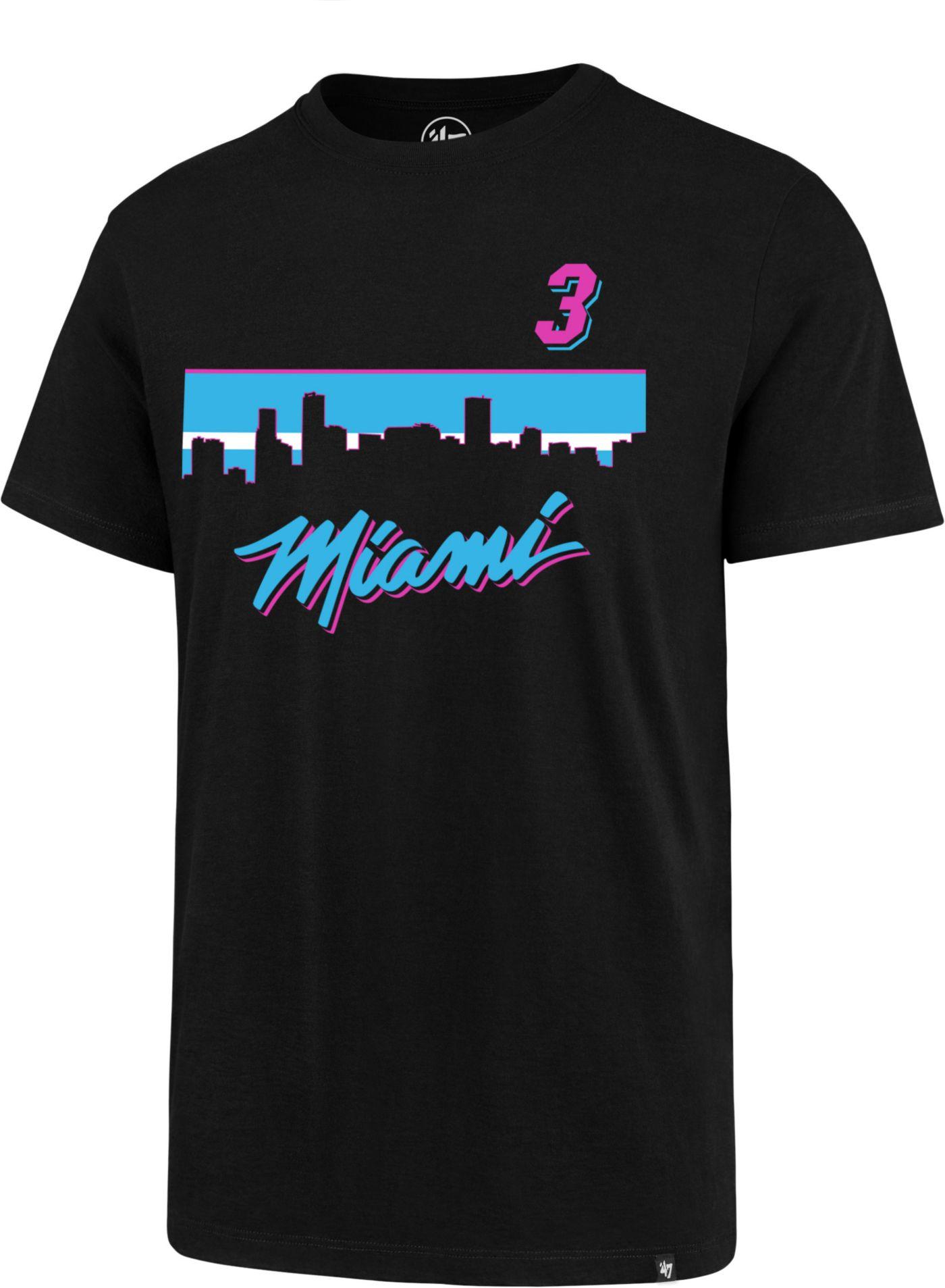 '47 Men's Miami Heat Dwyane Wade T-Shirt