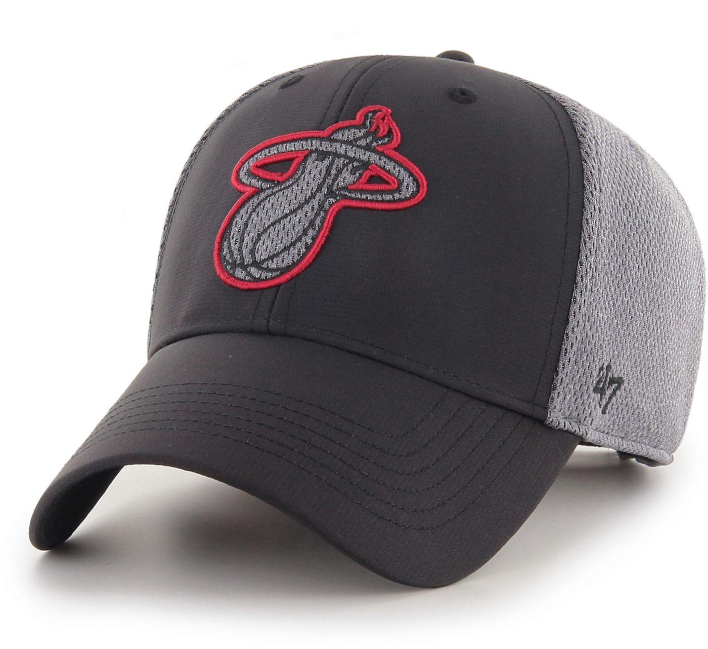47 Men's Miami Heat Arlo MVP Black Adjustable Hat