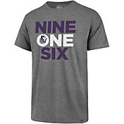 "'47 Men's Sacramento Kings ""916"" Grey T-Shirt"