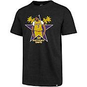'47 Men's Los Angeles Lakers Anthony Davis Black T-Shirt