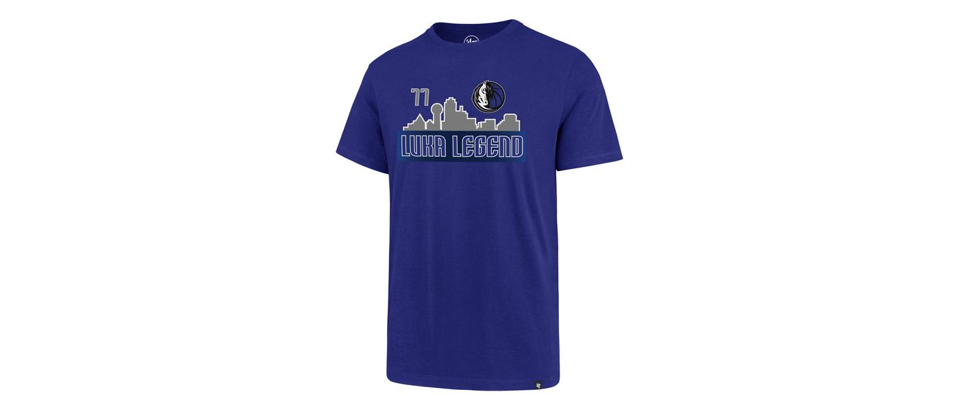 "'47 Men's Dallas Mavericks Luka Doncic ""Luka Legend"" Blue T-Shirt"