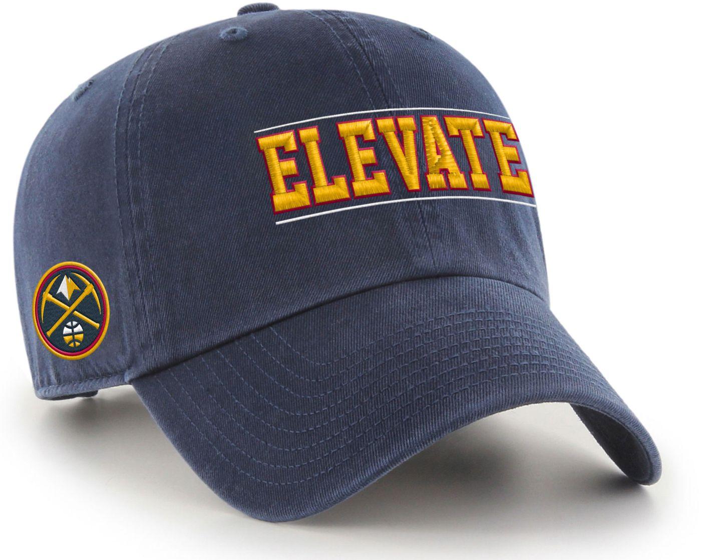"""'47 Men's Denver Nuggets """"Elevate"""" Clean Up Adjustable Hat"""