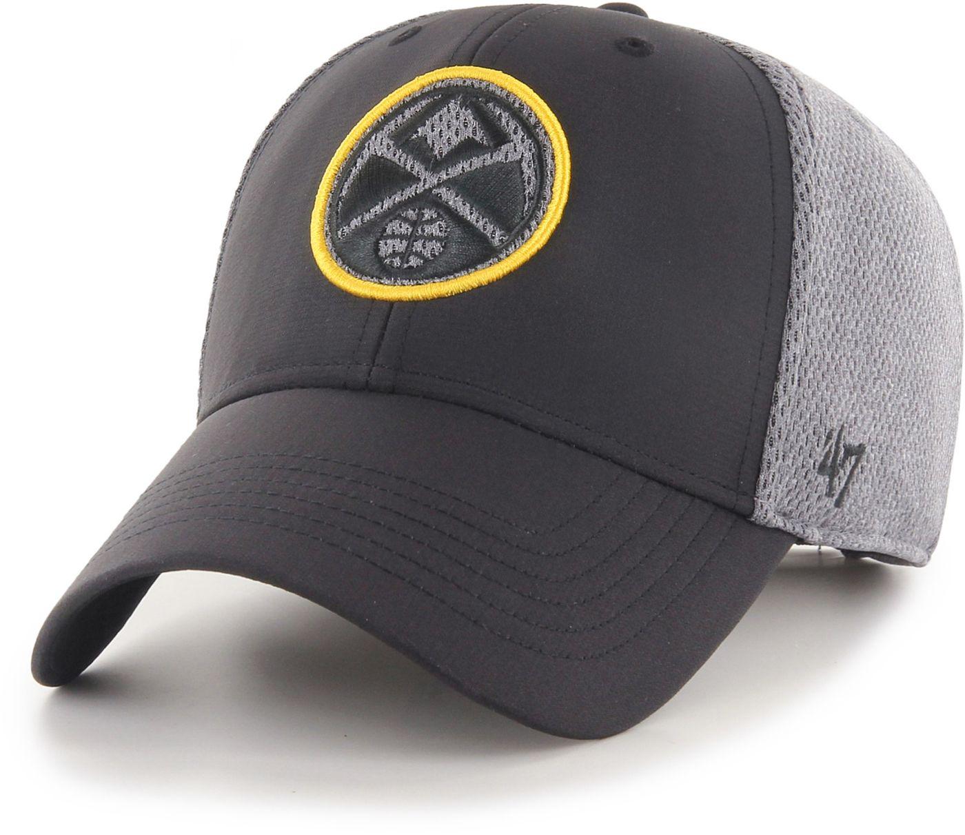 47 Men's Denver Nuggets Arlo MVP Black Adjustable Hat