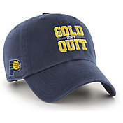 "'47 Men's Indiana Pacers ""Gold Don't Quit"" Clean Up Adjustable Hat"