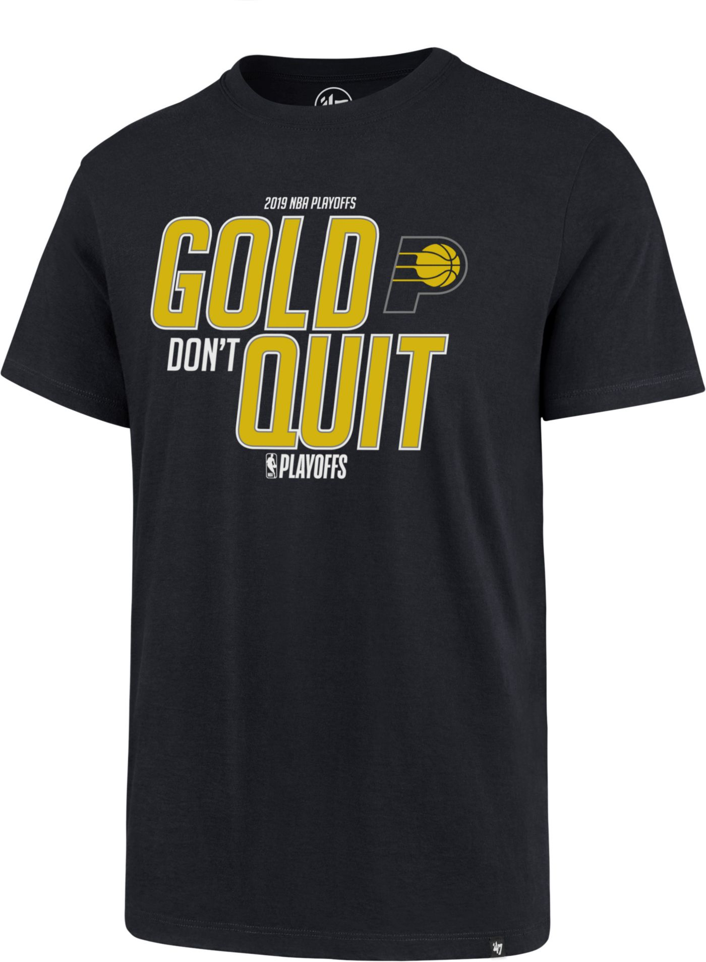 "'47 Men's Indiana Pacers ""Gold Don't Quit"" T-Shirt"