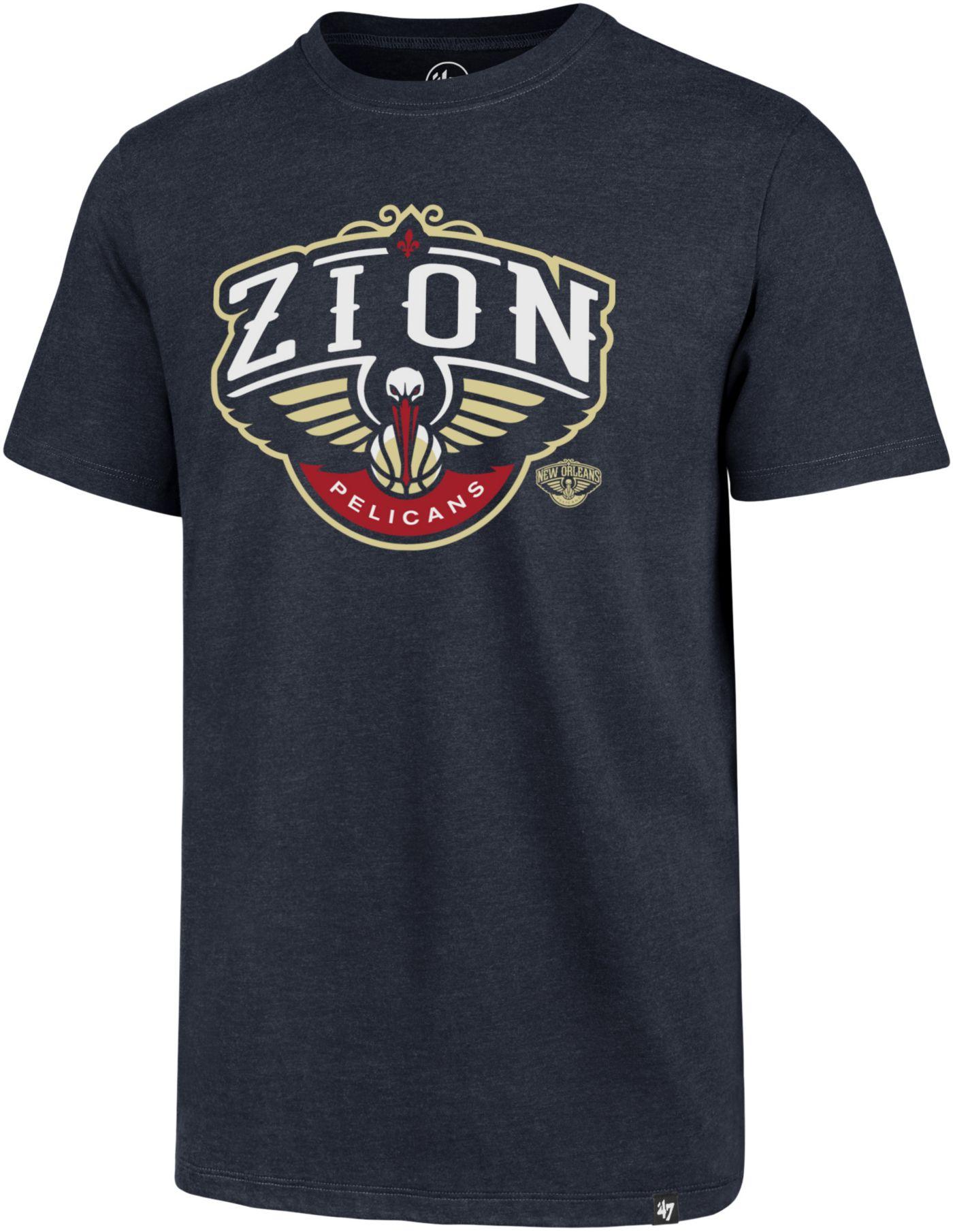 '47 Men's New Orleans Pelicans Zion Williamson Navy T-Shirt