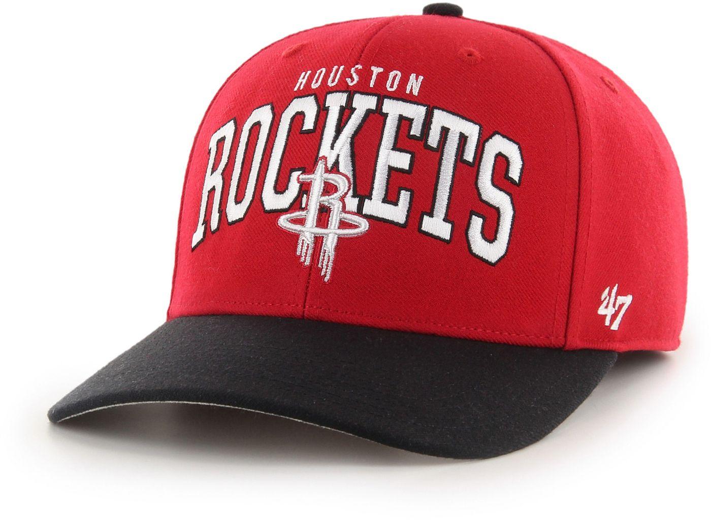 47 Men's Houston Rockets MVP Adjustable Hat
