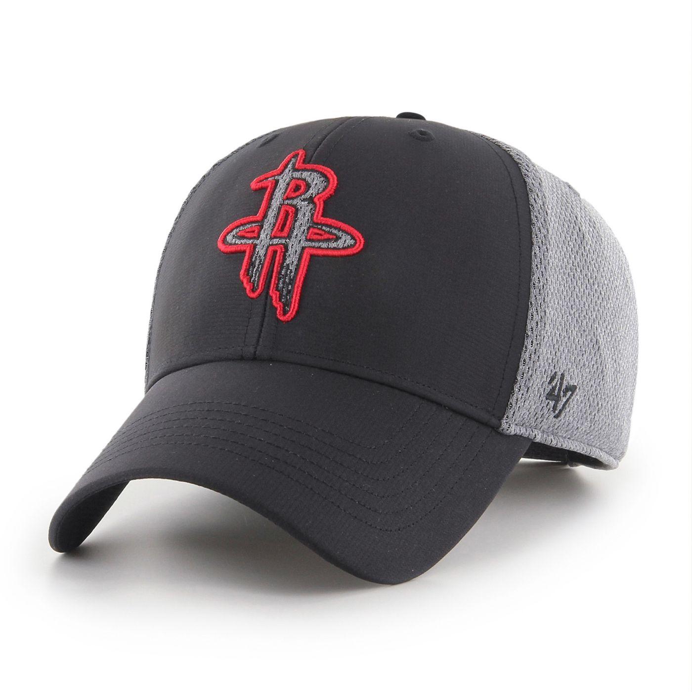 47 Men's Houston Rockets Arlo MVP Black Adjustable Hat