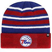 '47 Men's Philadelphia 76ers Knit Beanie