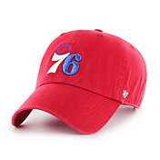 '47 Men's Philadelphia 76ers Red Adjustable Hat