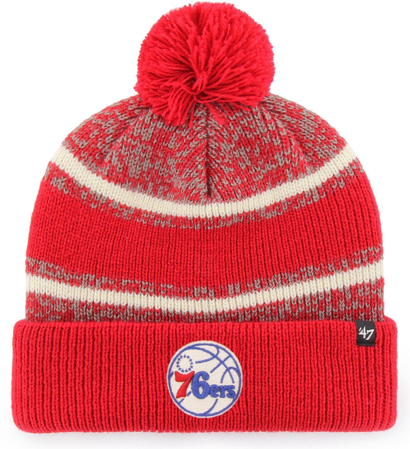 '47 Men's Philadelphia 76ers Fairfax Knit Hat