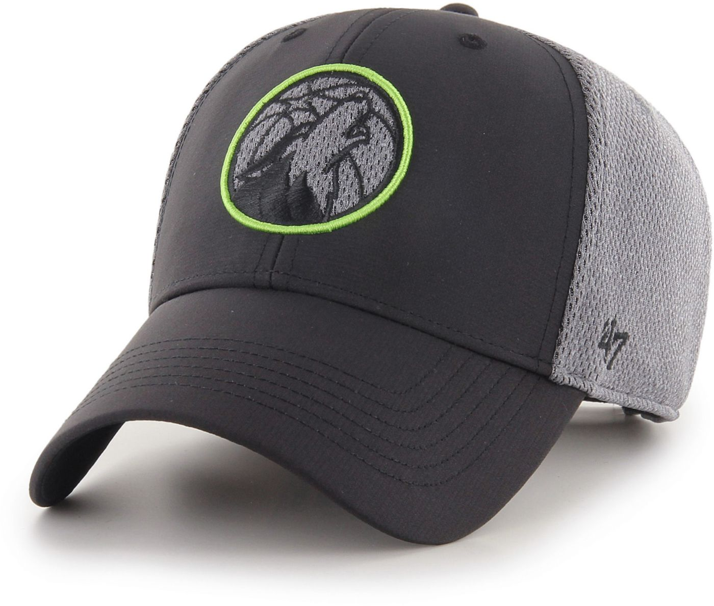47 Men's Minnesota Timberwolves Arlo MVP Black Adjustable Hat