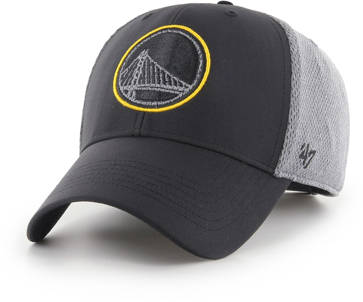 47 Men's Golden State Warriors Arlo MVP Black Adjustable Hat