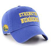 "'47 Men's Golden State Warriors ""Strength In Numbers"" Clean Up Adjustable Hat"