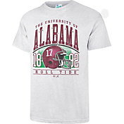 '47 Men's Alabama Crimson Tide Grey Touchdown T-Shirt
