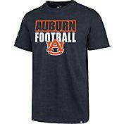 '47 Men's Auburn Tigers Blue Blockout Club T-Shirt