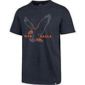 '47 Men's Auburn Tigers Blue Imprint Club T-Shirt