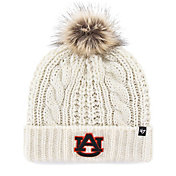 '47 Women's Auburn Tigers Meeko Cuffed Knit White Hat